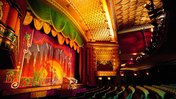 el capitan theater seating chart